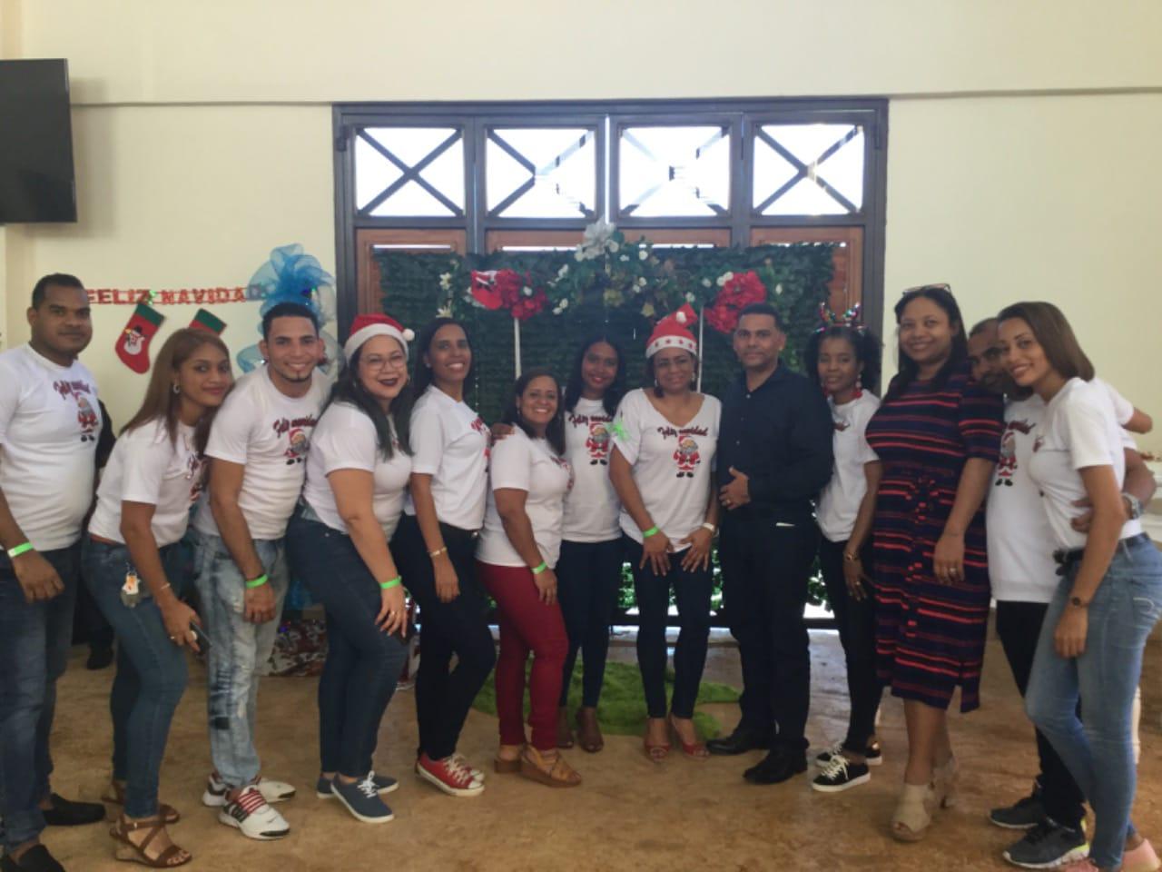 Hospital Ciudad Juan Bosch (HCJB) celebra fiesta navideña a sus empleados