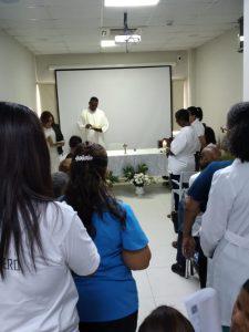 El hospital Ciudad Juan Bosch (HCJB) oficia eucaristía por los Enfermos