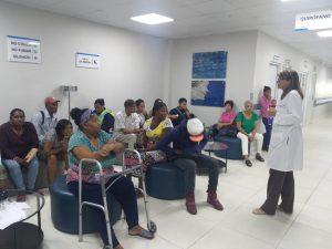 Psicólogo y Psiquiatra Hospital Ciudad Juan Bosch (HCJB) Imparten charla sobre prevención del VIH SIDA