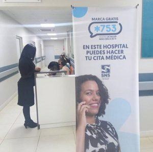 Hospital Ciudad Juan Bosch puso en funcionamiento un nuevo sistema de citas a través de su linea telefónica