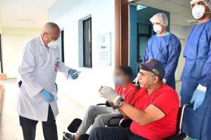 Ministerio de Salud confiere alta médica primeros tres pacientes recuperados de COVID-19.