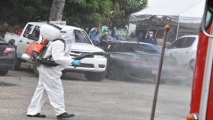 Autoridades gubernamentales intervienen provincia Duarte con múltiples acciones para combatir COVID-19
