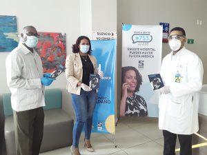 Director Hospital Ciudad Juan Bosch (HCJB) recibe Guía de Actuación de Seguridad Física