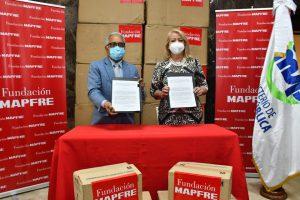 MSP recibe donación de insumos por parte MAPFRE en apoyo a la lucha contra el COVID-19
