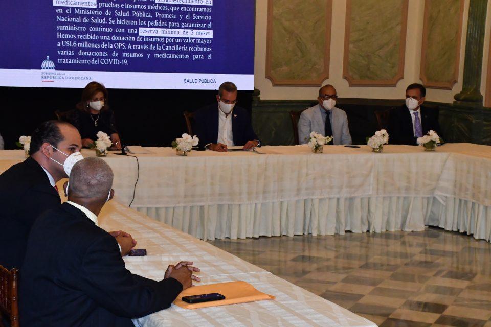 Presidente Luis Abinader presenta Plan Estratégico para contener expansión de Coronavirus en la República Dominicana