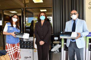 Ministerio de Salud recibe de la OPS/OMS kits de medios de transporte viral para la toma de muestras PCR-TR