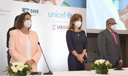 VP, MSP, SNS y UNICEF presentan Plan Nacional para la Reducción de la Desnutrición Aguda