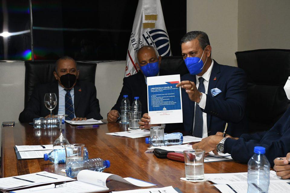 MSP y entidades de orden y seguridad coordinan protocolo COVID-19 dentro del plan Navidad Segura 2020