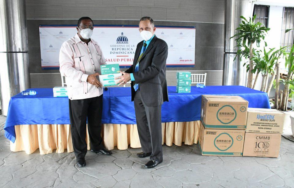 Ministerio de Salud entrega a CECANOT insumos de protección para la COVID-19
