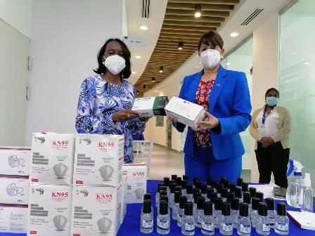 Ministerio de Salud Pública realiza entrega de insumos y material educativo al ITLA