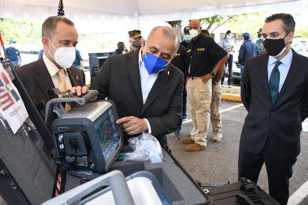 Ministerio de Salud recibe donación de ocho ventiladores como apoyo a la lucha contra la COVID-19